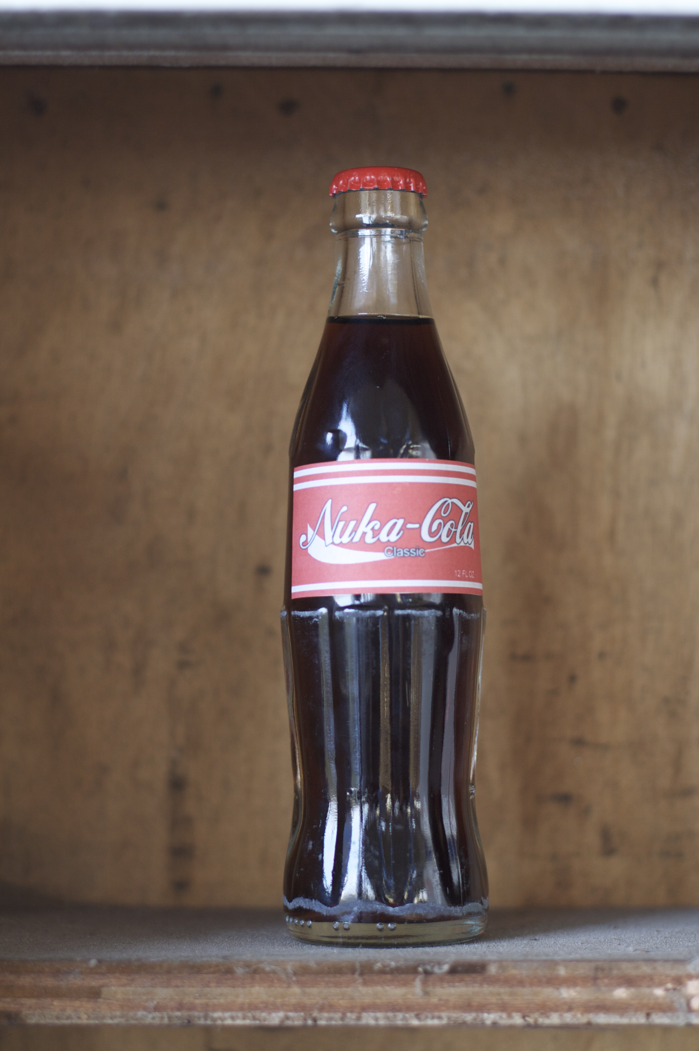how to make a nuka cola bottle