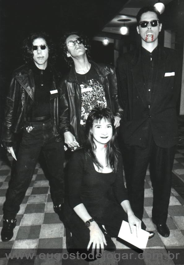 Hugo, Pig, Glênio e Márcia