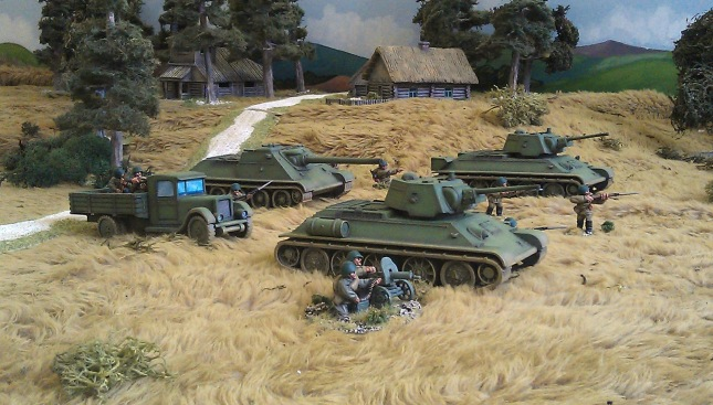 Russian_Tanks_AFV_28mm_Wargame_World_War_2_WW_II
